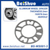Espaciador de la rueda del terminal de la aleación de aluminio 4 y 5 para el automóvil