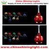 빛나는 공 휴일 파티 훈장 LED 요전같은 빛