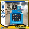Máquina de friso da mangueira 6s hidráulica industrial de Digitas 2 da tela de toque P52