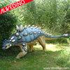 Het grote Model van Ankylosaurus van de Dinosaurus van de Grootte installeert bij het Park van de Dinosaurus