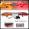 Bernstein und Red LED Security Lightbar mit Speaker Siren (TBD-GA-910LS-C4)