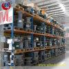 Alta qualità registrabile industriale della cremagliera del fornitore dorato della Cina alta