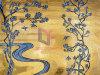 El oro de cristal brillante corte de la mano del diseño del arte del mosaico de pared (CFD235)