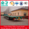 Sinotruck Trailer 3 Axle 40ft Container Transport Trailer Flatbed Semi Trailer