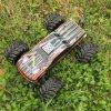1: 10 modelo con errores del coche de 4WD RC del coche del chasis eléctrico sin cepillo RC del metal