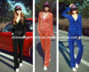 100% Polyester Velvet Sports Wear for Women's, Leisure Wear