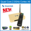 TV Box van Core Android van de vierling (T8) met ram-2GB ROM-8GB