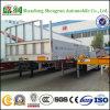 Fabrikant 3 van China Aanhangwagen van de Vrachtwagen van de Zijgevel van de As Flatbed Semi