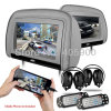 Benz BMW Audi Lexus VWトヨタフォードホンダBuick日産ヒュンダイPegueot KIA等(HD909D-With IRのヘッドホーン)のためのHDMI Port 9 Inch HD Headrest Car DVD Player