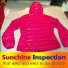 Обслуживание проверки качества кожаный куртки в Кита