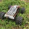 Châssis électrique sans frottoir en métal de pouvoir de véhicule du 1h10 4WD RC