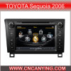 Reprodutor de DVD especial de Car para Toyota Sequoia (2006) com GPS, Bluetooth. com o Internet de Dual Core 1080P V-20 Disc WiFi 3G do chipset A8 (CY-C258)