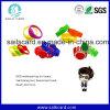 Bracelets imprimables faits sur commande de silicone de mode chaude