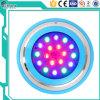 Éclairage sous-marin de piscine de la lampe 18With12V d'acier inoxydable
