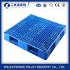 Stapelbare doppelte Hochleistungsseiten-Plastikladeplatte für Verkauf