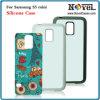 Sublimación de goma del caso del teléfono para Samsung S5 Mini