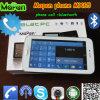 De witte Telefoon van Tablet 6.5 '' met de Dubbele Groef van de Kaart SIM voor het Roepen van de Telefoon van de Stad