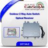 Receptor óptico de 2 maneras del Auto-Switch al aire libre de la salida con AGC Csp-1011