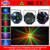 8*3W White Strobe + 5*3W Rgbwy LED + Rg Laser Light