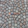 Het goedkope Netwerk van het Graniet/Netto Straatsteen voor Openlucht