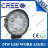 24W LED Driving Light para SUV/ATV/4X4 Offroad Lights