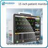 Novo - Monitor de paciente com vários parâmetros de 15 polegadas com caixa de armazenamento