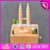 Коробки нот Handmade самых лучших игрушек деревянные для малышей W07b048