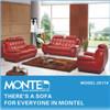 Sofà moderno del cuoio del salone, mobilia domestica, insieme della mobilia del sofà