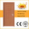 Bon prix de portes de salle de bains de PVC de forces de défense principale de chêne de vente (SC-P048)