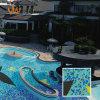 Mattonelle della piscina delle mattonelle di vetro di mosaico di vetro di mosaico (SOD51)