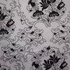 Oxford 600d fleurit le tissu de polyester d'impression (XL-1880-710.5-66113-1)