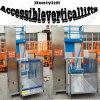 Доступный электрический вертикальный лифт кресло-коляскы
