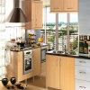 Kleine Küche-Schrank-festes Holz-Küche-Geräten-Küche-Möbel