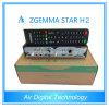 L'étoile chaude européenne H2 HD de Zgemma de vente conjuguent récepteur satellite du noyau DVB-S2+DVB-T2