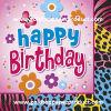 servilletas de vector del papel de feliz cumpleaños de los 25*25cm