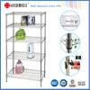 NSF estante estándar del estante del almacenaje del alambre del hierro del cromo