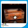 Validar la orden de encargo y el Humidor de madera del cigarro del cedro español