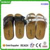 Sughero di cuoio dei sandali delle donne di qualità (RW28896)