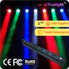 Indicatore luminoso capo mobile del fascio della rondella di Yuelight LED 8PCS*10W RGBW 4in1