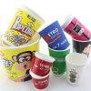 Taza de papel creativa diseñada libre del partido del color de la mezcla