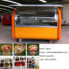 Chariot adapté aux besoins du client de nourriture de chariot de vente de Crepe (ZC-VL01)