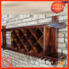 Cremagliera di visualizzazione del vino del supporto della parete