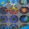 Etiqueta autoadhesiva de la seguridad del holograma de la alta calidad