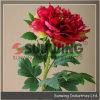 Flores artificiais Handmade puras do Peony para a decoração do casamento