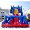 屋外の大きいスライド膨脹可能な水スライド