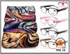 일치 주머니 동물성 패턴 유행 Eyewear 확대경 (MRP21587)