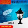 Nuevo diseño y luz de energía solar popular del poste