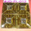 Плитка мозаики стеклянного зеркала золота кристаллический