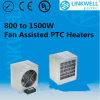 La grande puissance a expulsé le réchauffeur de ventilateur en aluminium de ptc de 800W à 1500W avec le certificat de la CE pour le Cabinet de commutateur