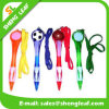 Lovely populaire Custom Logo Printed sur Lanyard Ball Pen (SLF-LP014)
